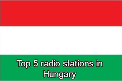 Top 5 live radio stations in Hungary