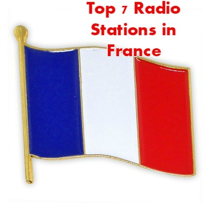 Top 7 online Radio Stations in France