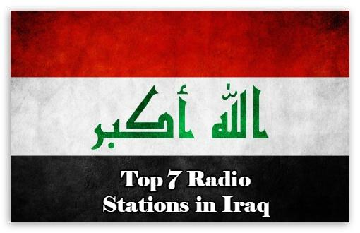 Top 7 online Radio Stations in Iraq