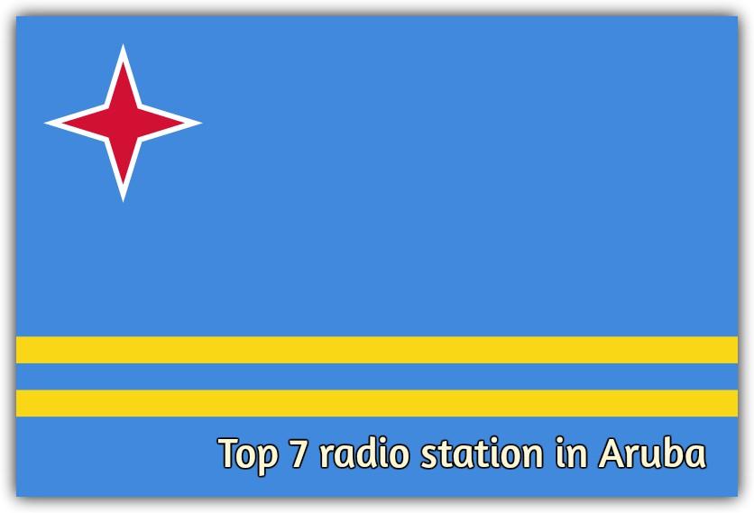 Top 7 radio station in Aruba