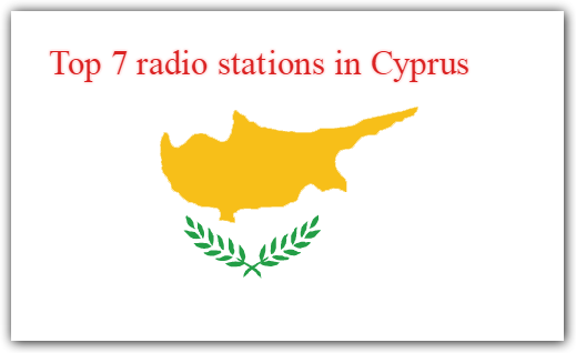 live online Top 7 radio stations in Cyprus