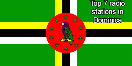 online Top 7 radio stations in Dominica
