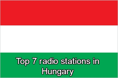 Top 7 online radio stations in Hungary