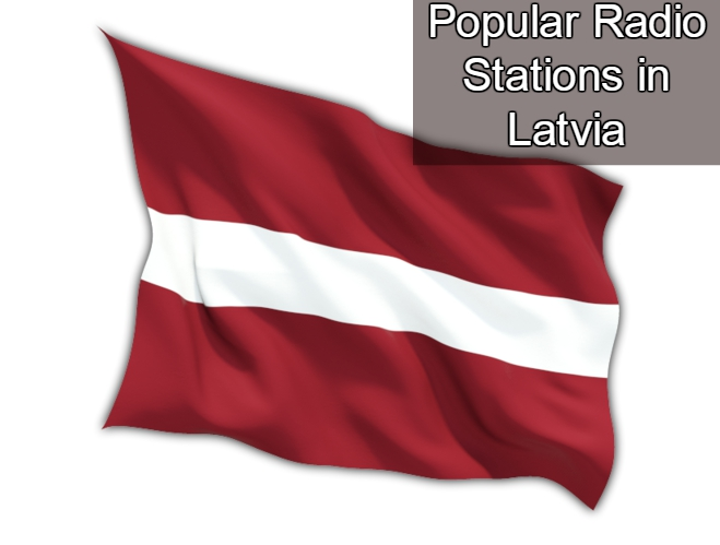 Popular live online Radio Stations in Latvia