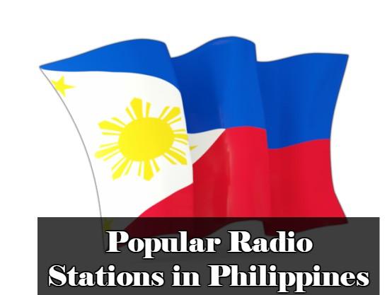 Popular online Radio Stations in Philippines