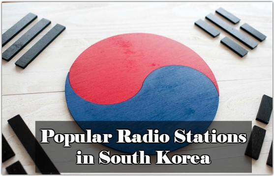 Popular online Radio Stations in South Korea