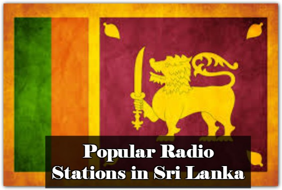 Popular Radio Stations in Sri Lanka online