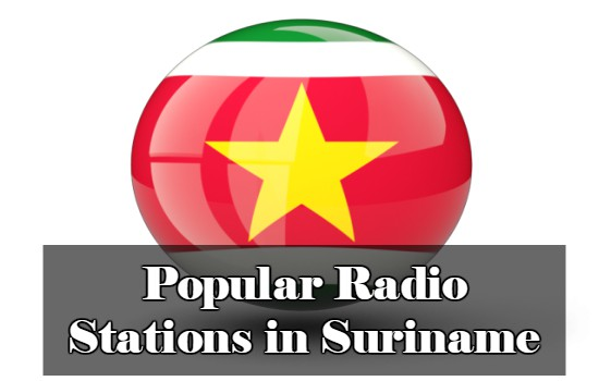 Popular online Radio Stations in Suriname