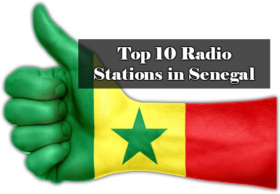 Top 10 live online Radio Stations in Senegal