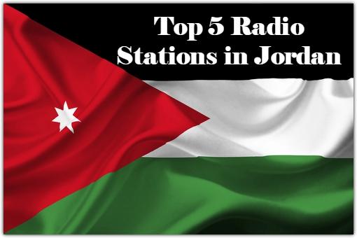 Top 5 online Radio Stations in Jordan
