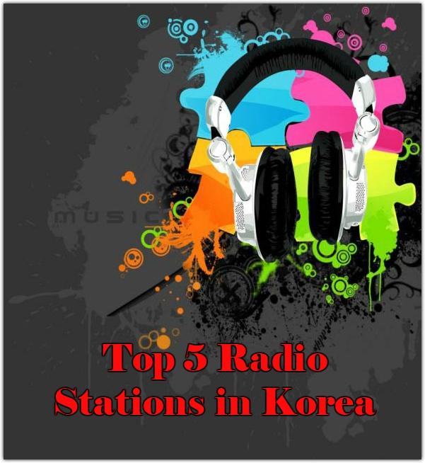 Top 5 Onlien Radio Stations in Korea