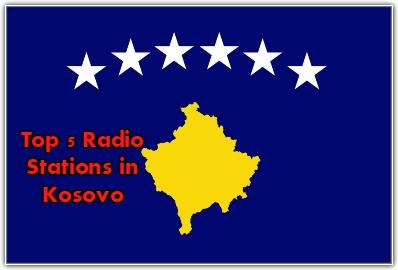 Top 5 live Radio Stations in Kosovo