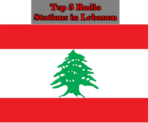 Top 5 online Radio Stations in Lebanon