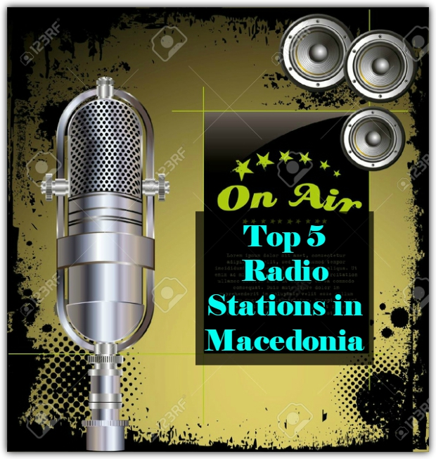 Top 5 online Radio Stations in Macedonia