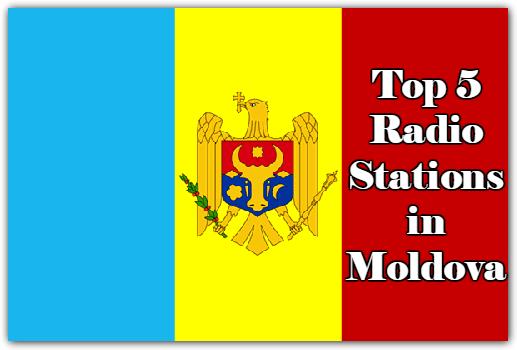 Top 5 online Radio Stations in Moldova