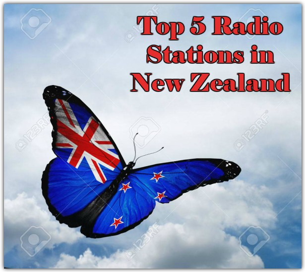 Top 5 online Radio Stations in New Zealand