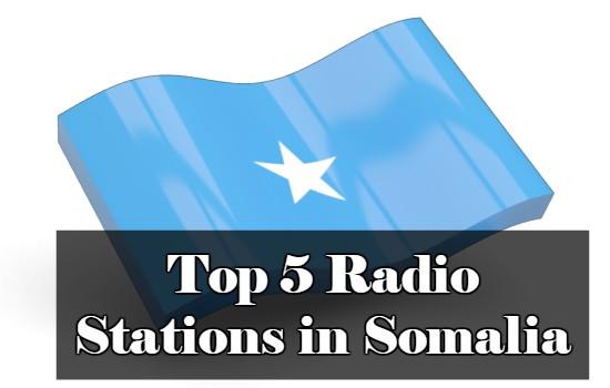 Top 5 online Radio Stations in Somalia