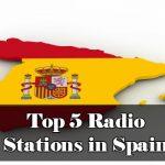 Top 5 online Radio Stations in Spain