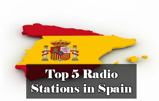 Top 5 online Radio Stations in Spain