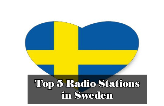 Top 5 online Radio Stations in Sweden