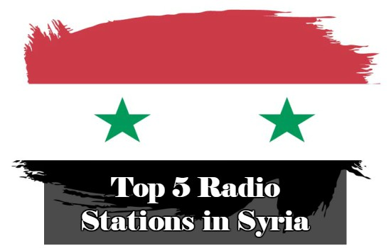 Top 5 online Radio Stations in Syria