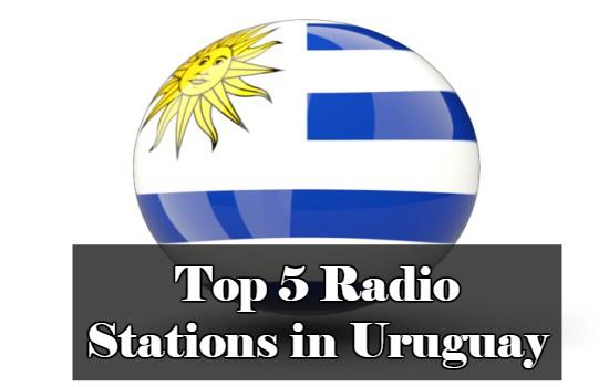 Top 5 Radio Stations in Uruguay online
