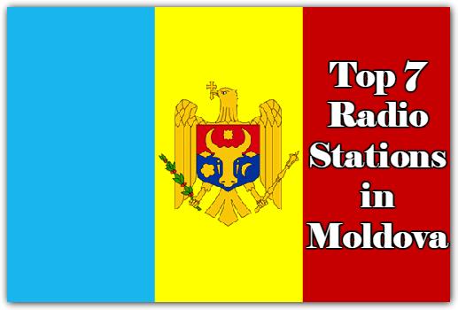 Top 7 online Radio Stations in Moldova