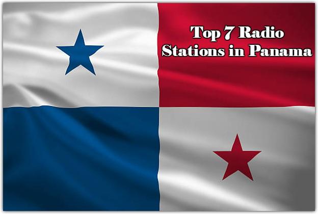 Top 7 Radio Stations in Panama live