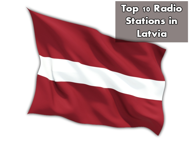 Top 10 Radio Stations in Latvia