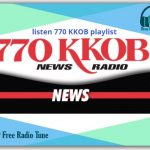 770 KKOB - KKOB is a transmission radio broadcast in Albuquerque, New Mexico, United States, giving News and Talk shows.94.5 FM/AM 770 News radio KKOB - KKOB is a transmission radio station in Albuquerque, New Mexishows.