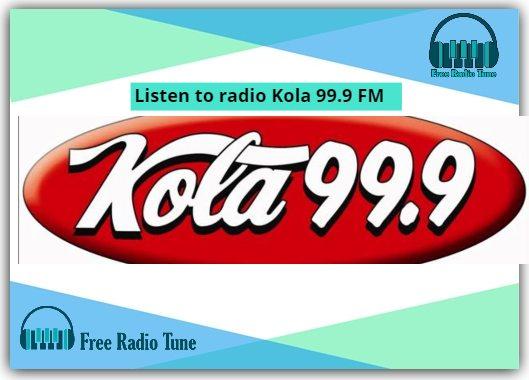 Listen to radio Kola 99.9 FM