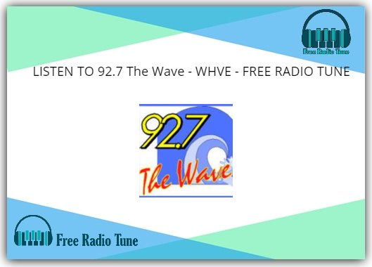 92.7 The Wave