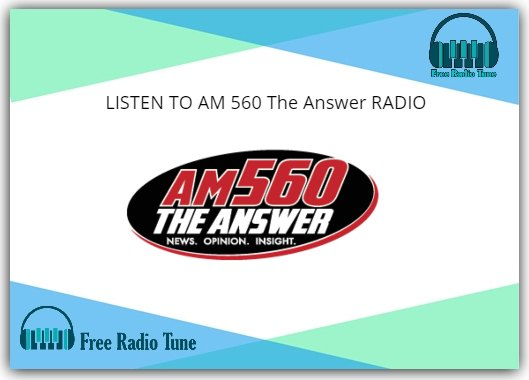 AM 560 The Answer
