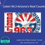 Listen 96.3 Arizona's Real Country FM live