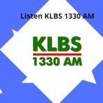 Listen KLBS 1330 AM live