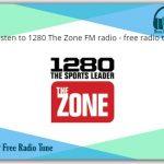 1280 The Zone FM radio