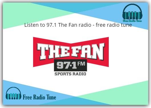 97.1 The Fan radio
