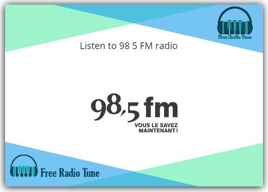 98 5 FM radio
