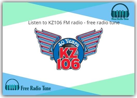 KZ106 FM radio