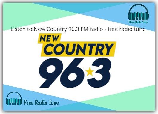 New Country 96.3 FM radio