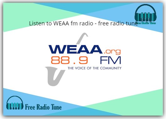 WEAA fm radio