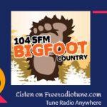 Bigfoot Country 104.5 FM Live Stream