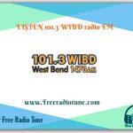 101.3 WIBD radio FM