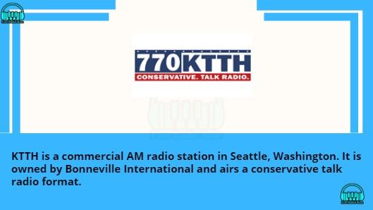AM 770 KTTH FM radio