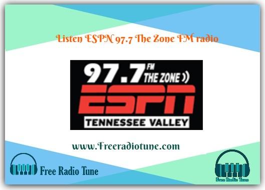 ESPN 97.7 The Zone FM radio