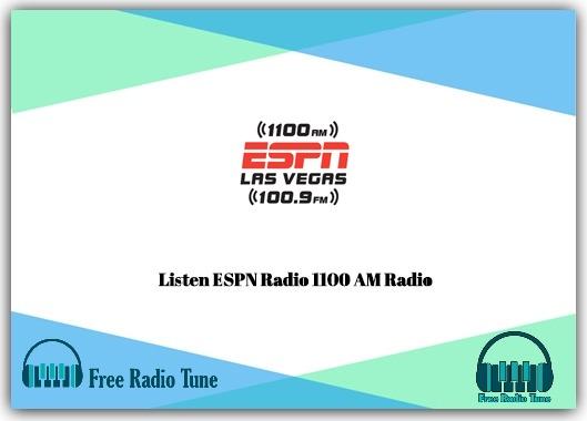 ESPN Radio 1100 AM Radio
