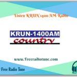 KRUN 1400 AM Radio