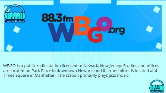 WBGO fm radio
