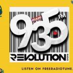 Revolution 93.5 FM Live Streaming