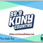 99.9 KONY Country FM Listen Live